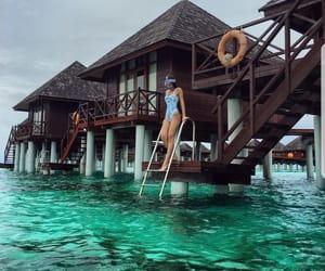 Maldives, praia, and maldivas image