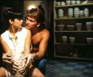 ghost, couple, and Demi Moore image