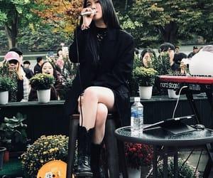 korean girl, vintage, and singer image