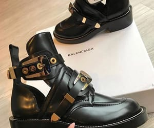 Balenciaga, boots, and shoes image