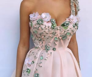 details, gorgeous, and dress image