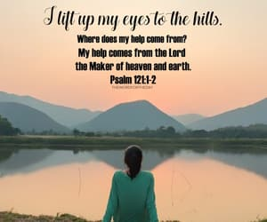 encouragement, help, and bible verse image