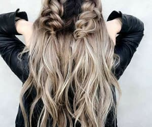 hair, hairstyles, and ombre hair image