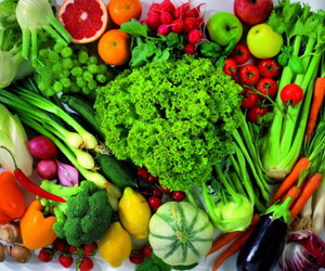 colorful, healthy, and vegetables image
