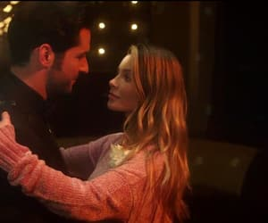 lucifer, chloe decker, and detective image