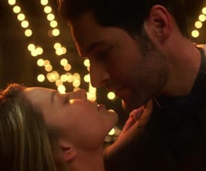 detective, lucifer, and chloe decker image