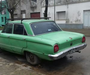 aesthetic, car, and green image