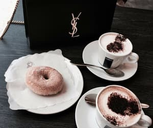 break, donuts, and coffee image