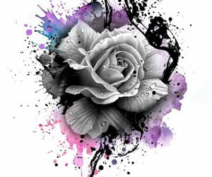 art, floral, and beautiful image
