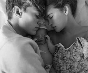 family, couple, and baby image