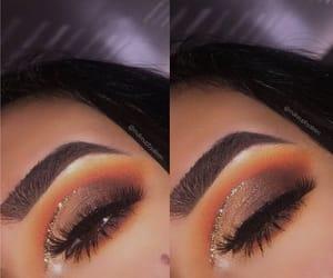 makeup, eyeshadow, and brows image