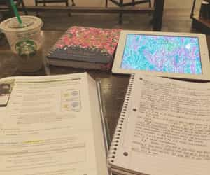 books, college, and notes image