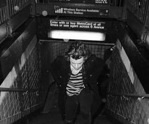 b&w, Harry Styles, and one direction image