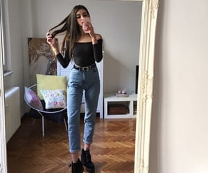 beauty, grunge, and outfit image