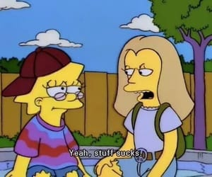simpsons, grunge, and the simpsons image