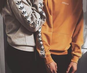 adidas, best friends, and boyfriend image