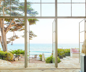 beautiful, beach, and beach house image
