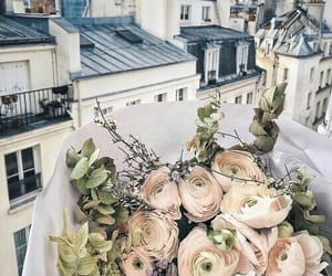 flowers, city, and tumblr image