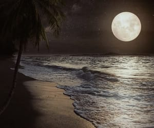 full moon, moon, and pretty image