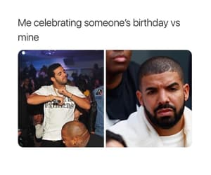 birthday, dance, and Drake image