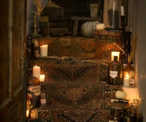 interior, magick, and room image