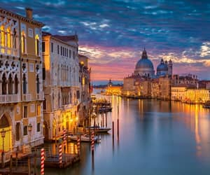grand canal, italy, and trippstravelnetwork image