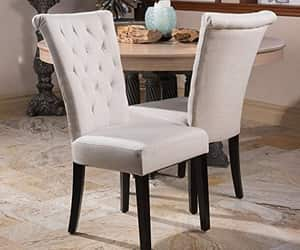 chairs, dining room, and home improvement image