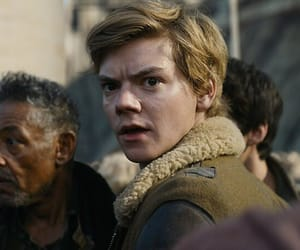 newt, death cure, and thomas sangster image