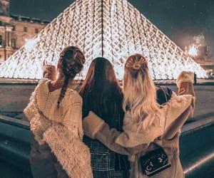 bff, girls, and paris image