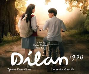 movie, Relationship, and iqbaal image