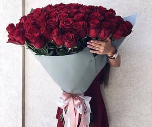 boyfriend, flowers, and everybody can be happy image