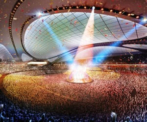 architects, zaha hadid, and 2020 olympics stadium image