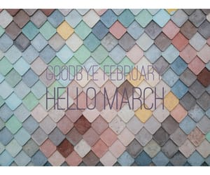 february, month, and march image