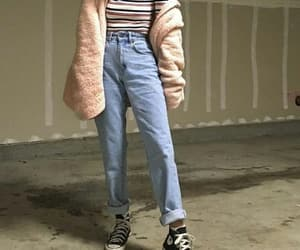 90s, 90s style, and jeans image