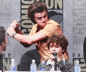 gaten matarazzo, friendship, and joe keery image