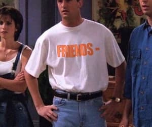 tv show, chandler, and friends image