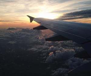 clouds, sky, and travel image