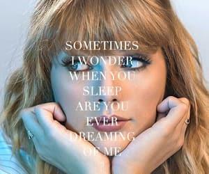 Lyrics, music, and Taylor Swift image