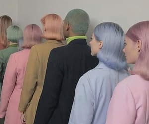 aesthetic, hair, and pastel image
