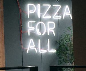 pizza, bucharest, and food image
