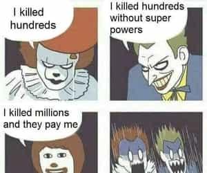 bd, clown, and gag image