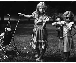 kids, black and white, and sally mann image