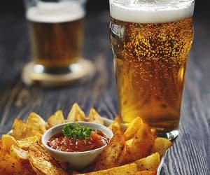 gif, beer, and food image