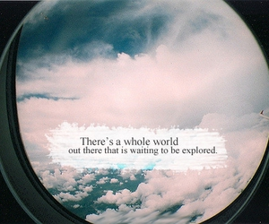world, explore, and quote image