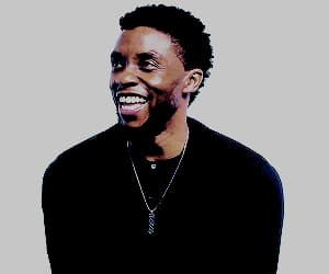 black panther, Chadwick, and cutie image