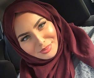 frappe, girl, and hijab image
