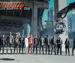 arrow, dc legends of tomorrow, and Supergirl image