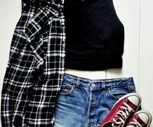 black, converse, and style image