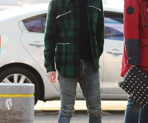 kpop, airport fashion, and Onew image