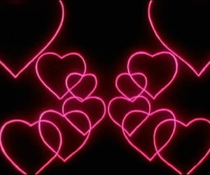 gif, heart, and hearts image